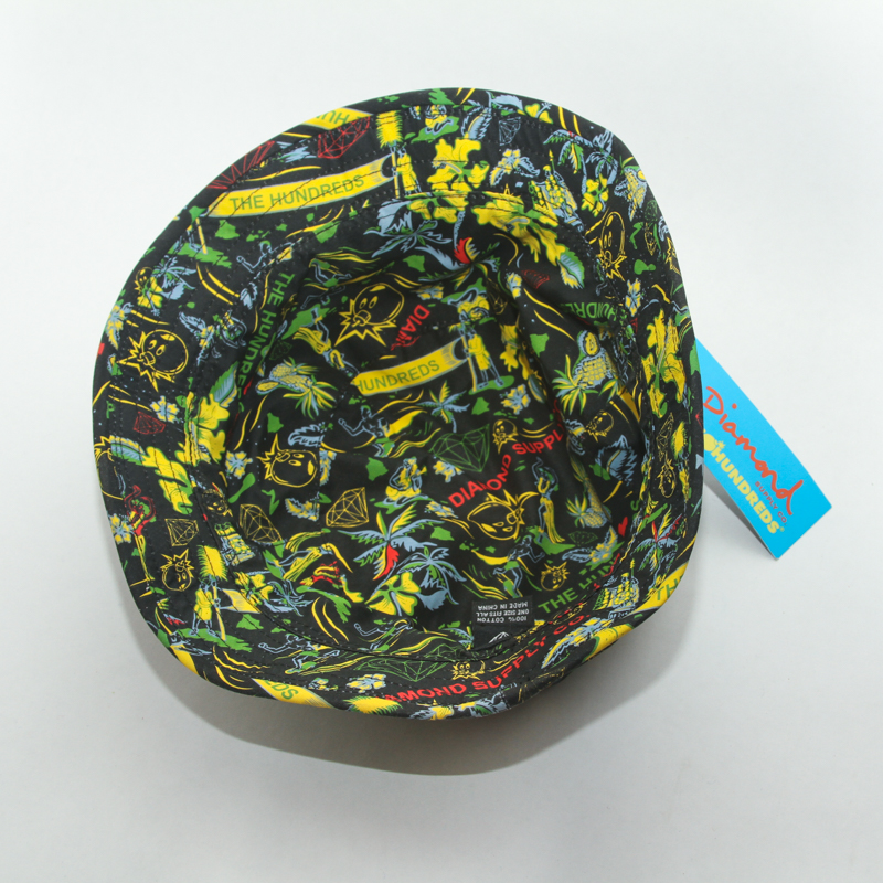The Hundreds X Diamond Supply Hawaiian Bucket Hat  bd065498cfb